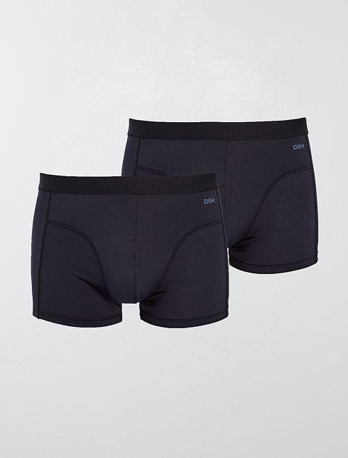 Pack de 2 boxers 'EcoDim' de 'DIM'                             NEGRO Hombre