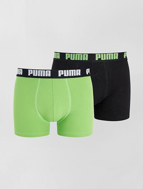 Pack de 2 boxers 'Puma'                                                                                         VERDE