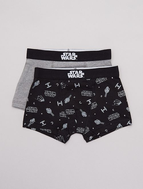 Pack de 2 boxers 'Star Wars'                             NEGRO
