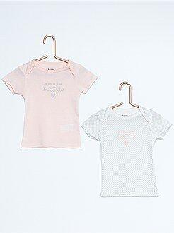 Pack de 2 camisetas