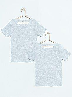 Pack de 2 camisetas de algodón - Kiabi