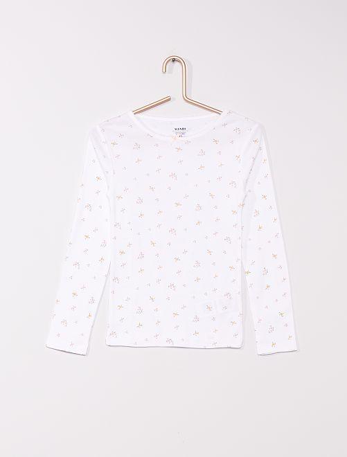 Pack de 2 camisetas eco-concepción                             AZUL