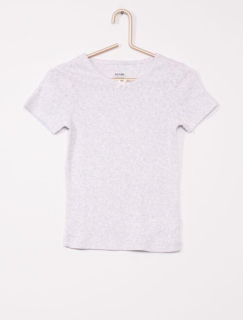 Pack de 2 camisetas                             GRIS
