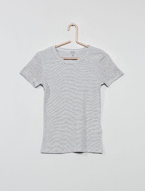 Pack de 2 camisetas interiores 'eco-concepción'                                         BLANCO