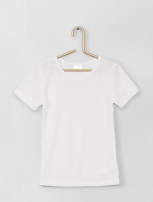 Pack de 2 camisetas Thermolactyl 'Damart'                             blanco