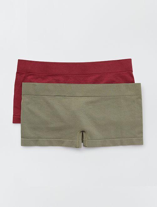 Pack de 2 culottes                                                                             KAKI