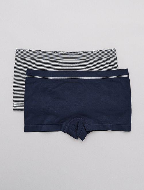 Pack de 2 culottes sin costuras 'Billet Doux'                                                                 AZUL Lencería de la s a la xxl