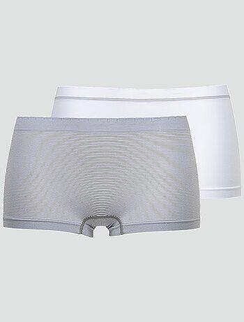 Pack de 2 culottes sin costuras 'Billet Doux' - Kiabi