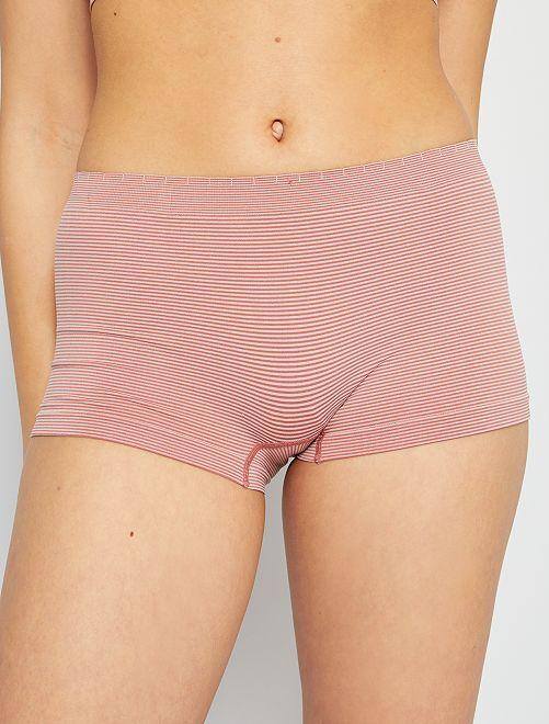 Pack de 2 culottes sin costuras 'Billet Doux'                                                                             rosa/rosa