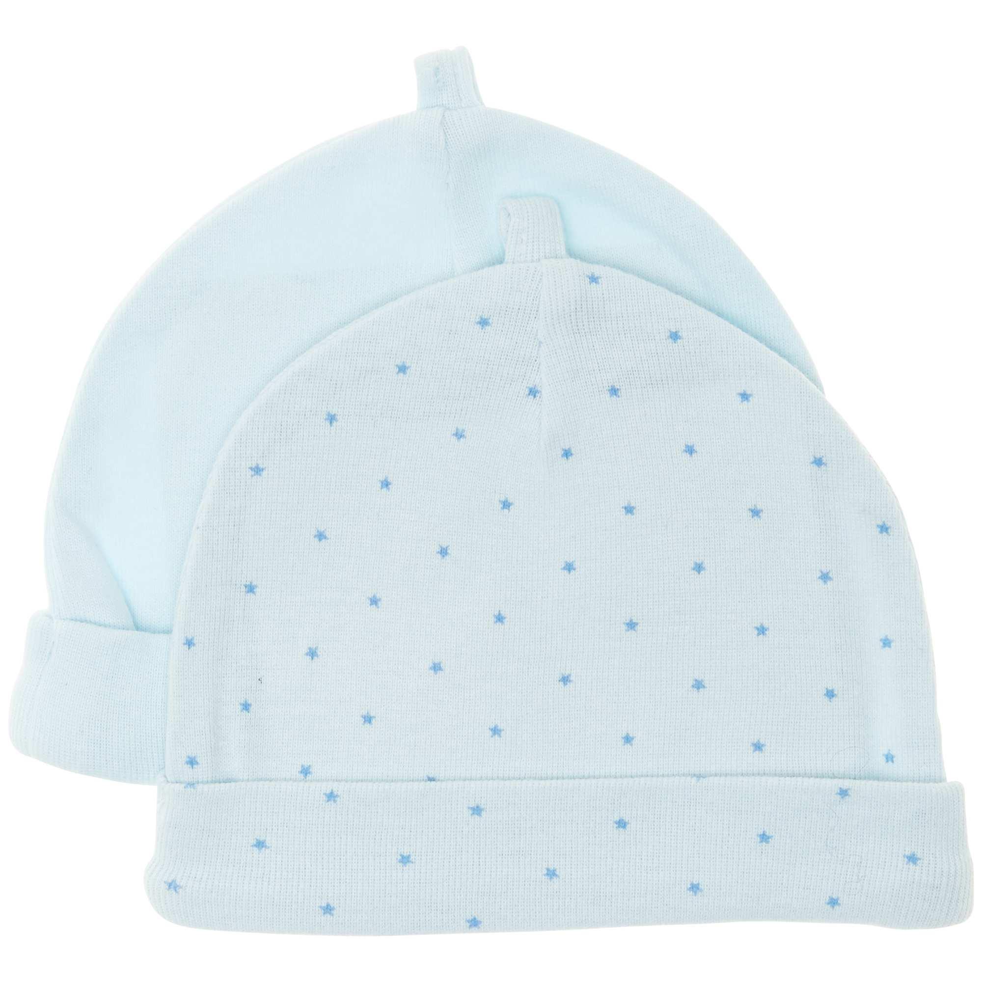 cd2c5dbca Pack de 2 gorros de algodón orgánico Bebé niño - azul - Kiabi - 4