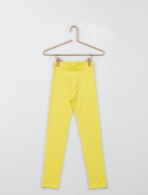 Pack de 2 leggings                                                                 verde/amarillo