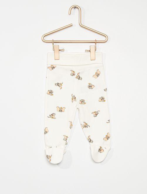 Pack de 2 leggings 'Winnie The Pooh' eco-concepción                                                     BLANCO
