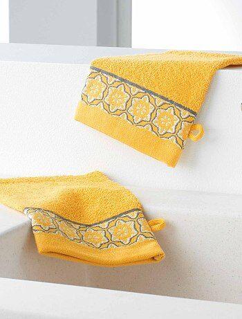 Hogar - Pack de 2 manoplas de baño - Kiabi