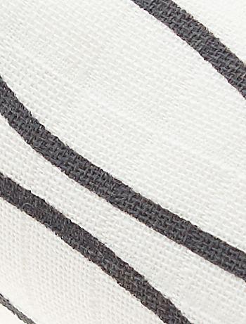 Pack de 2 mantas de algod n org nico puro beb ni o gris - Mantas de bebe hechas a ganchillo ...