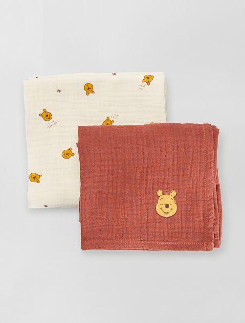 Pack de 2 mantas para bebé 'Winnie'                                                     winnie