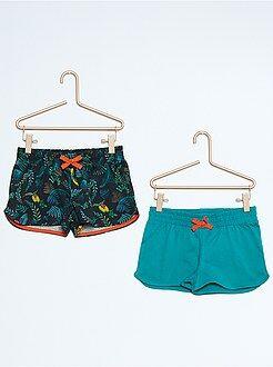 Pack de 2 pantalones cortos de algodón