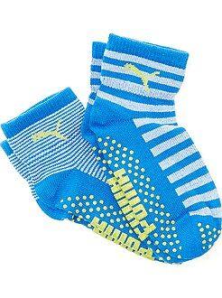 Niño 0-36 meses Pack de 2 pares de calcetines antideslizantes de 'Puma'