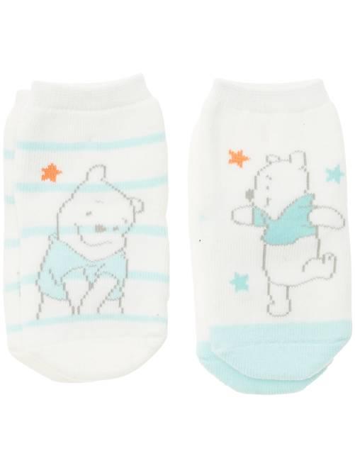 Pack de 2 pares de calcetines                                          Bebé niña