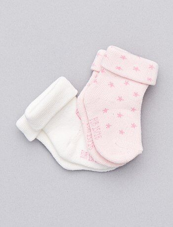 Pack de 2 pares de calcetines - Kiabi
