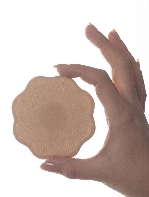 Pack de 2 pares de tapapezones                             piel