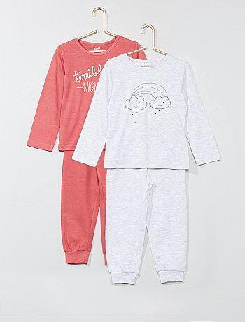 952f69ab9 Pack de 2 pijamas estampados - Kiabi