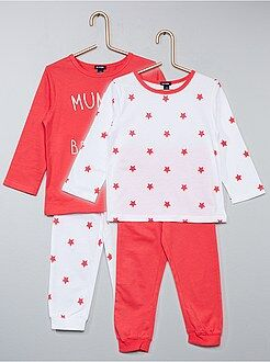 Pack de 2 pijamas estampados - Kiabi