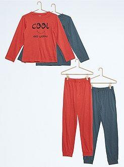 Pijamas - Pack de 2 pijamas - Kiabi