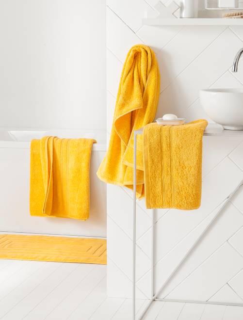 Pack de 2 toallas 30 x 50 cm                                                                                                                             amarillo Hogar