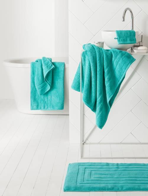 Pack de 2 toallas 30 x 50 cm                                                                                                                                                                                                                 AZUL Hogar