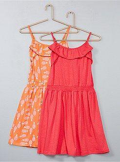 Vestidos, faldas - Pack de 2 vestidos ligeros - Kiabi