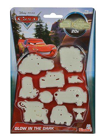 Pack de 20 pegatinas fosforescentes 'Cars' - Kiabi