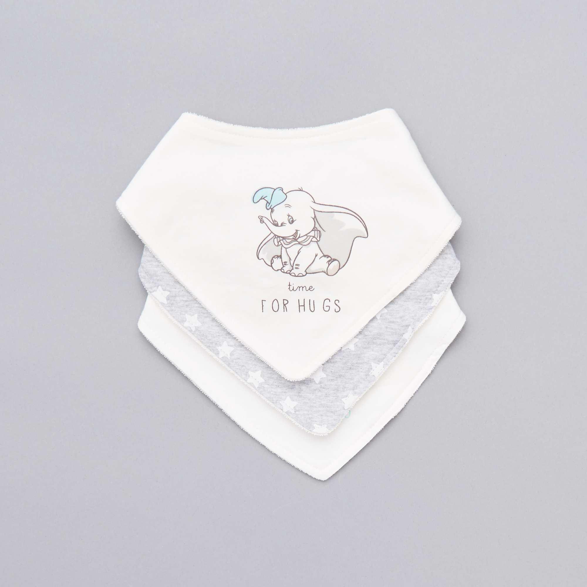 70dbea979 Pack de 3 baberos bandana 'Disney' Bebé niño - BLANCO - Kiabi - 7,00€