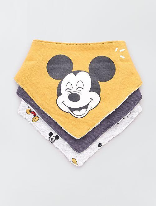 Pack de 3 baberos 'Disney Baby'                                         mickey