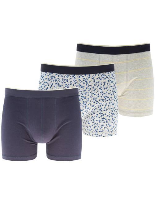 Pack de 3 boxers                                             AMARILLO Hombre