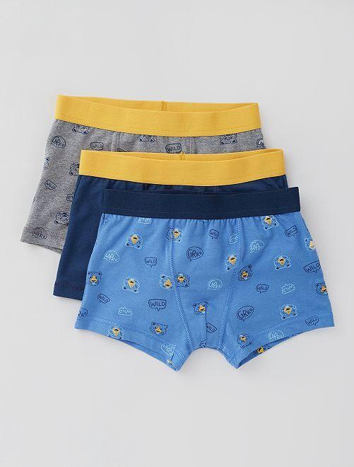Pack de 3 boxers                                                                                                                                                                                                                                                                                                                                                     AMARILLO