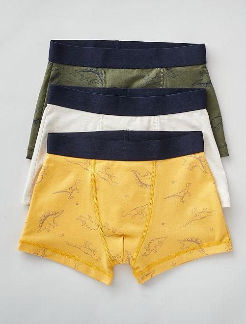 Pack de 3 boxers                                                                                                                                                                                                                                                                 AZUL
