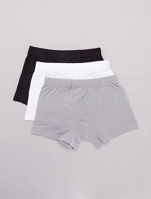 Pack de 3 boxers                                                     BLANCO