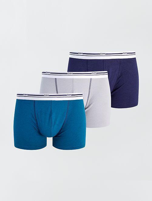 Pack de 3 boxers 'DIM'                                                                 GRIS
