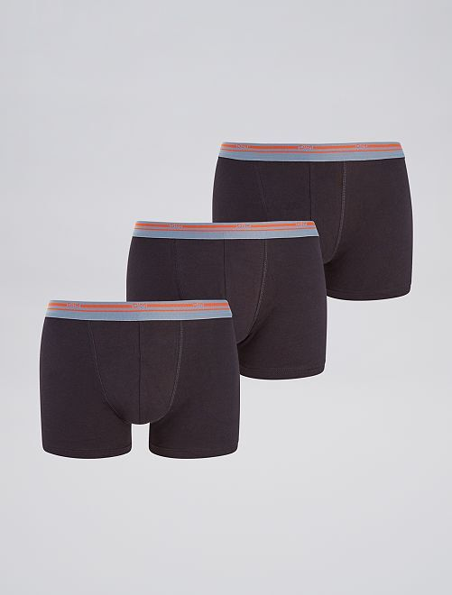 Pack de 3 boxers 'DIM'                                                     negro