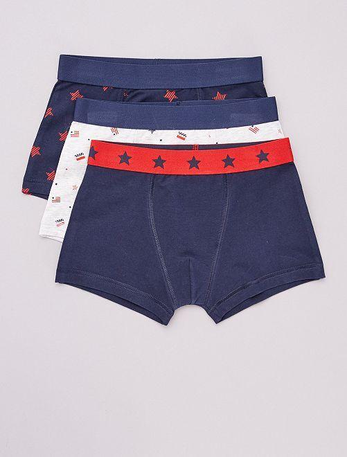 Pack de 3 boxers                                                                                                                                                                                                                                                                                                                 GRIS