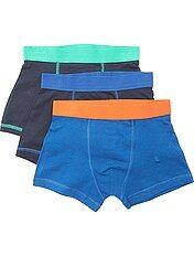 Pack de 3 boxers lisos
