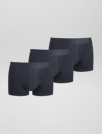 1f1d17e52dc Pack de 3 boxers lisos elásticos - Kiabi