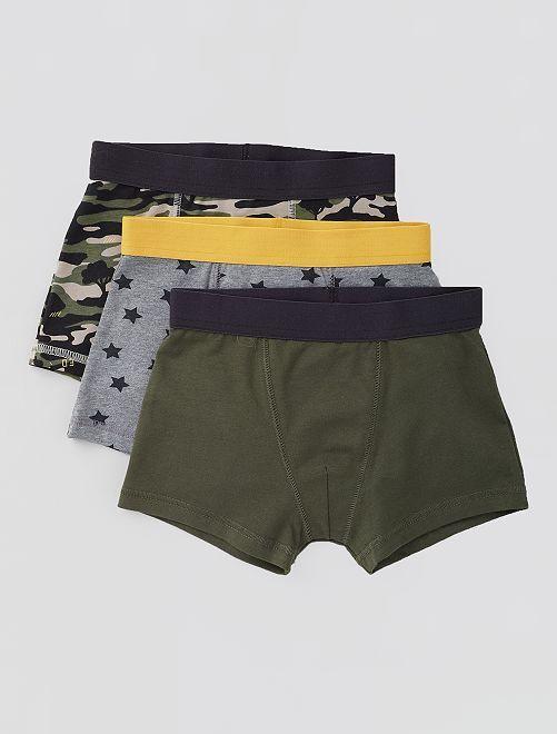 Pack de 3 boxers                                                                                                                                                                                                                                                                                                                             NEGRO