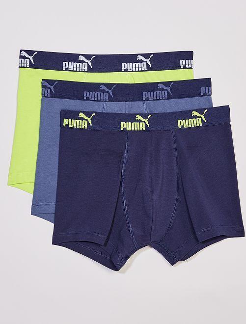 Pack de 3 bóxers 'Puma'                                                     GRIS