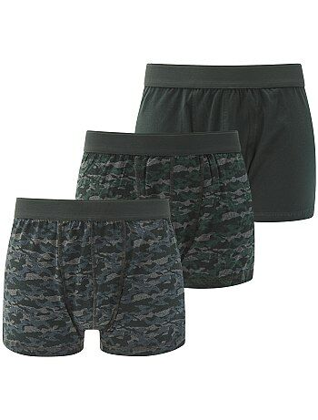 Pack de 3 boxers tallas grandes - Kiabi