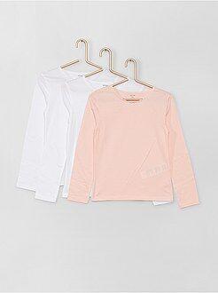 Pack de 3 camisetas de algodón