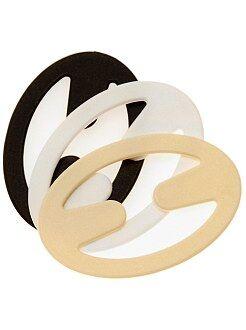 Accesorios lencería - Pack de 3 clips para tirantes - Kiabi
