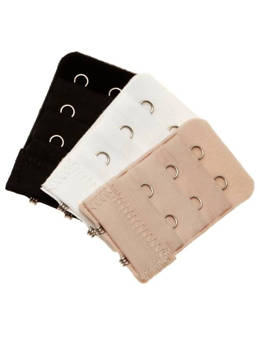 Pack de 3 extensores de sujetador                             negro/blanco/piel Lencería de la s a la xxl