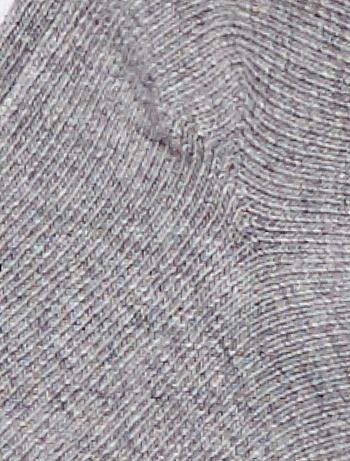 063c65abb Pack de 3 pares calcetines invisibles lisos Bebé niño - GRIS - Kiabi ...