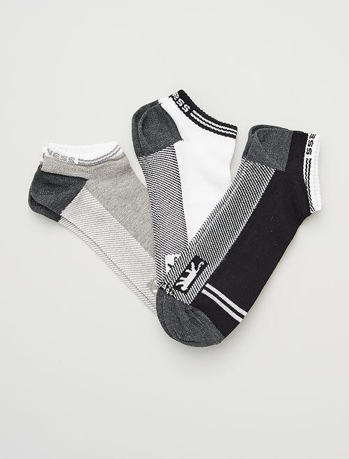 Pack de 3 pares de calcetines 'Airness'                             BLANCO